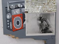 Pintura04_Grabadora con incendio_40x45cm